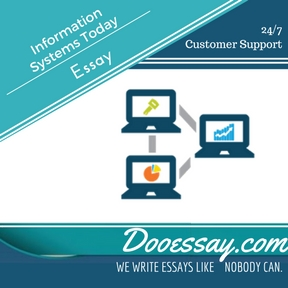 Information Systems Today Essay