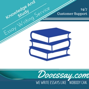 Knowledge And Study Essay