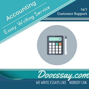 Accounting Essay Writing Service
