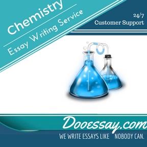 Chemistry Essay Writing Service