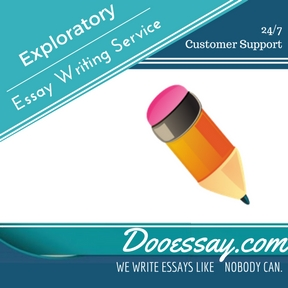 Exploratory Essay Writing Service