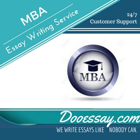 Mba essay services