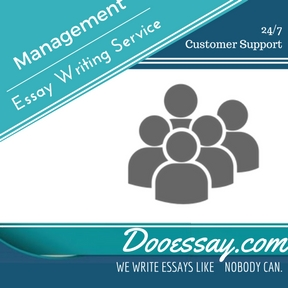 Management Essay Writing Service
