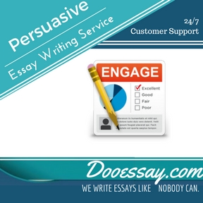 Professional Persuasive Essay Writing Service: Cheap Prices, % Original