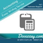 Accounting Essay Writing Services