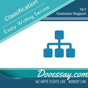 Classification Essay Writing Service