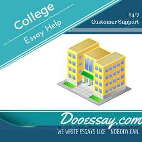 College essay help service