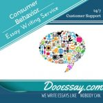 Consumer Behavior Essay Writing Service