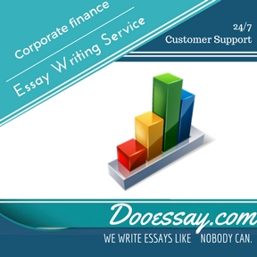 Corporate finance Essay Writing Service