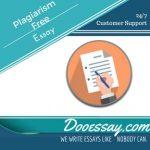 Plagiarism Free Essays