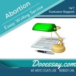 Abortion Essay Writing Service