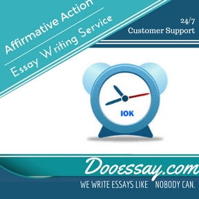 Affirmative Action Essay Writing Service