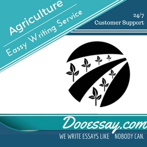 Agriculture essay
