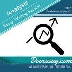 Analysis Essay Writing Service