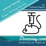 Animal Testing Essay Writing Service