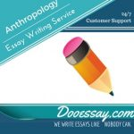 Anthropology Essay Writing Service