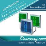 Architecture Essay Writing Service