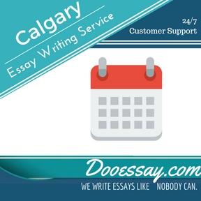 Essay writing service calgary
