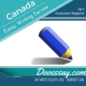 Canadian essay writing service