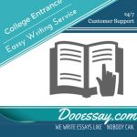 College Entrance Essay Writing Service