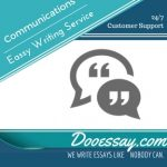 Communications Essay Writing Service