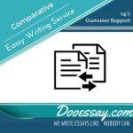 Comparative Essay Writing Service