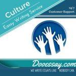 Culture Essay Writing Service