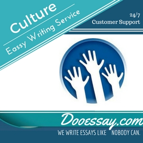 Culture Essay Writing Service