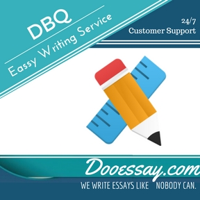 DBQ Essay Writing Service