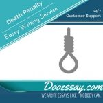 Death Penalty Essay Writing Service