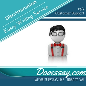 Discrimination Essay Writing Service
