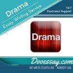 Drama Essay Writing Service
