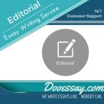 Editorial Essay Writing Service