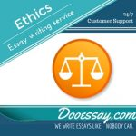 Ethics Essay Writing Service
