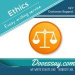 Ethics Essay Writing Service