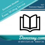 European Studies Essay Writing Service