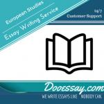 European Studies Essay Writing Service