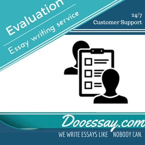 Online writing evaluation service