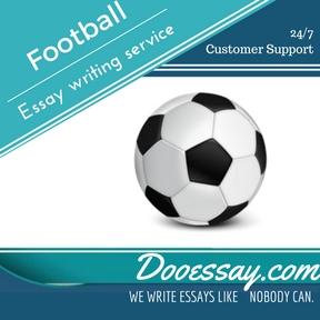 Football Essay Writing Service