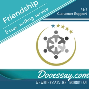 Using essay writing service friendships