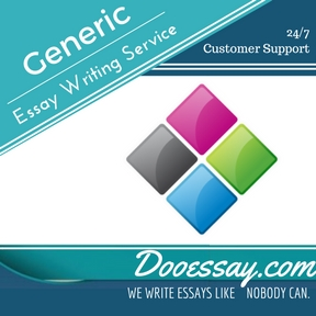 Generic Essay Writing Service