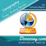 Geography Essay Writing Service