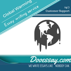 Global Warming Essay Writing Service