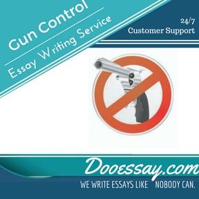 Gun Control Essay Writing Service
