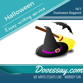 Halloween Essay Writing Service