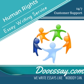 Human Rights Essay Writing Service