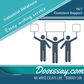 Industrial Relations Essay Writing Service