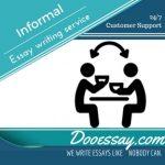 Informal Essay Writing Service