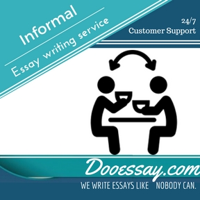 Informal Essay writing service