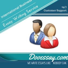International Business Essay Writing Service